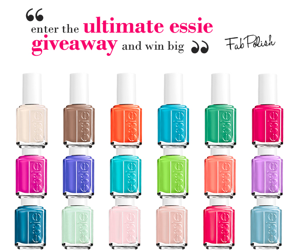 Win It! - The Fab Polish Ultimate Essie Giveaway | All Lacquered Up ...