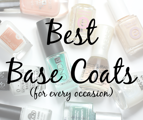 Best Base Coats for Nails