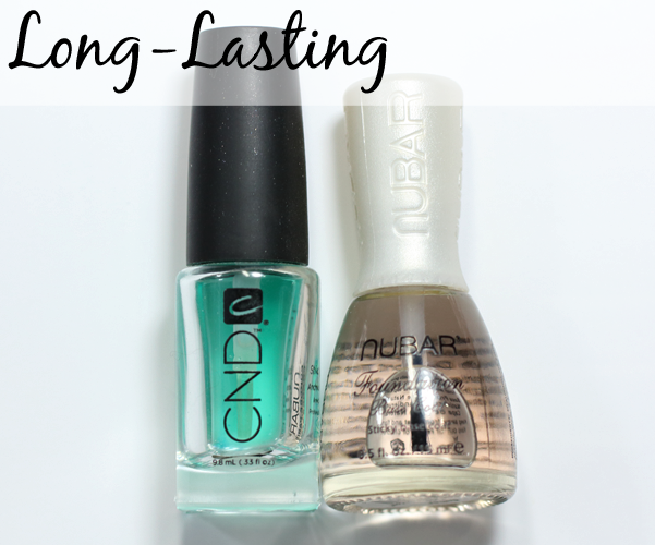 Best Long-Lasting Base Coat - CND Stickey and Nubar Foundation Base Coat