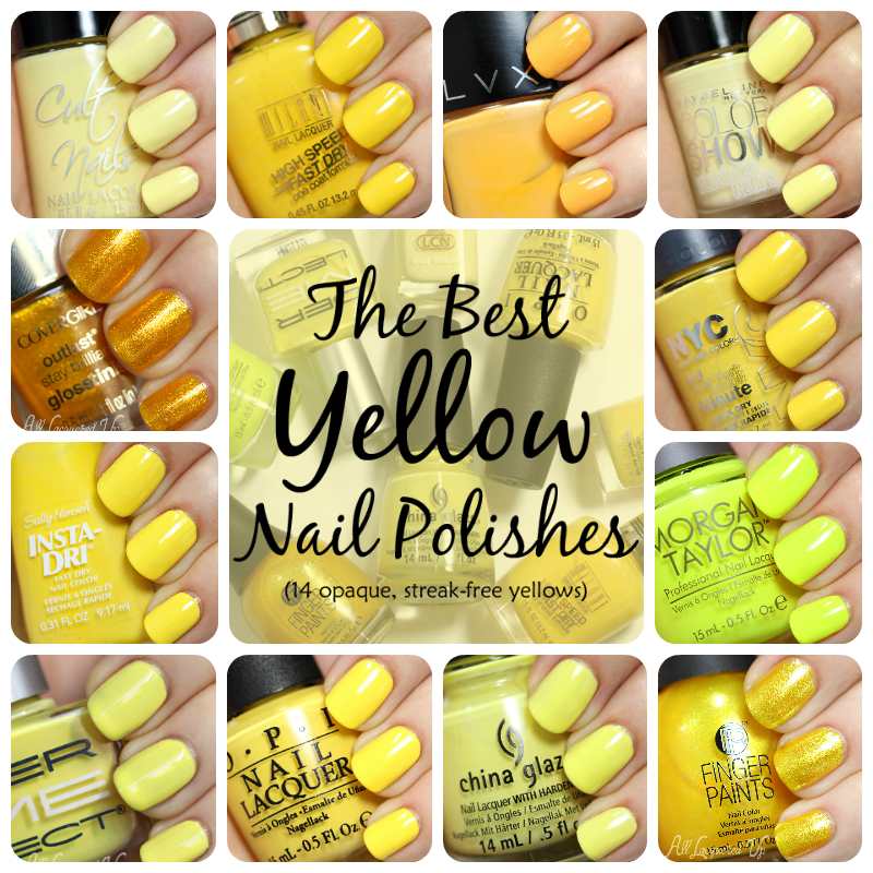 Best Yellow Nail Polish