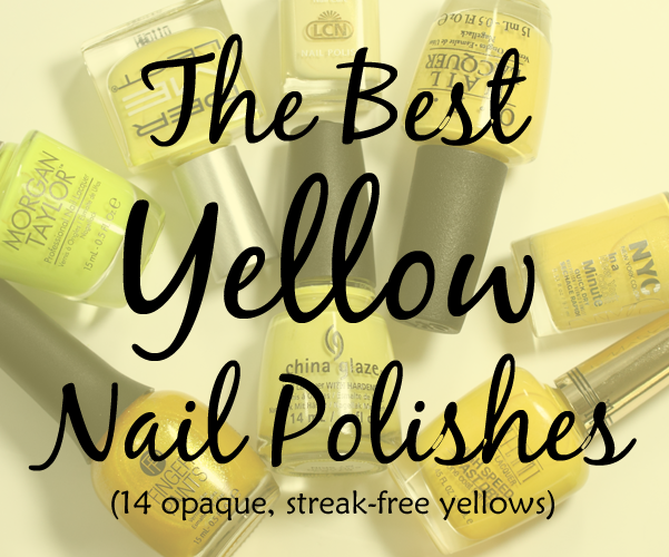 The 14 Best Yellow Nail Polishes You Can Get Right Now