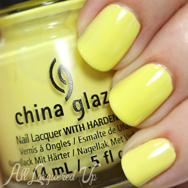 China Glaze Sun Upon My Skin swatch