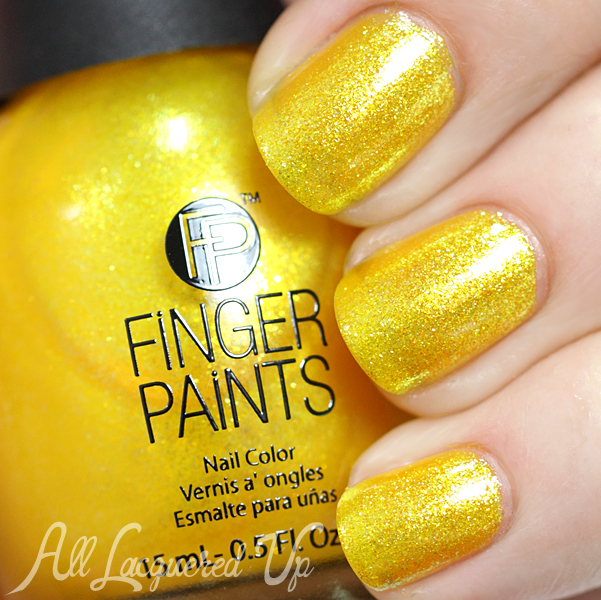 FingerPaints Hula Aruba swatch - Summer 2014