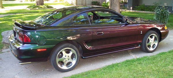 Ford Mustang Mystic Paint Cobra