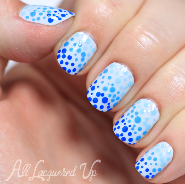 Gradient Dotticure Nail Art #ManiMonday