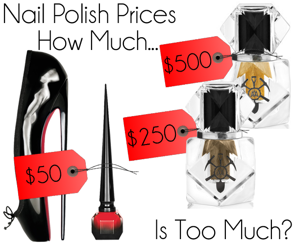 Will You Pay $50 for Rouge Louboutin Nail Polish?