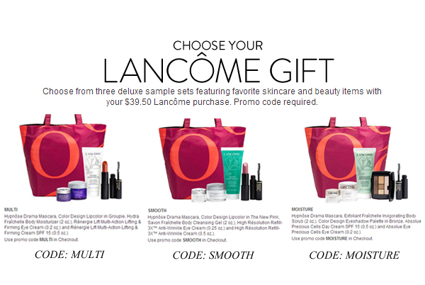 Nordstrom Anniversary Sale 2014 GWP - Lancome