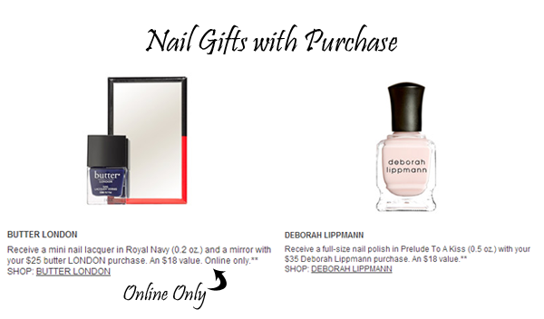 Nordstrom Anniversary Sale 2014 Nail GWP