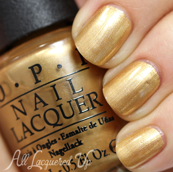 OPI 50 Years of Style swatch from OPI Ford Mustang via @AllLacqueredUp