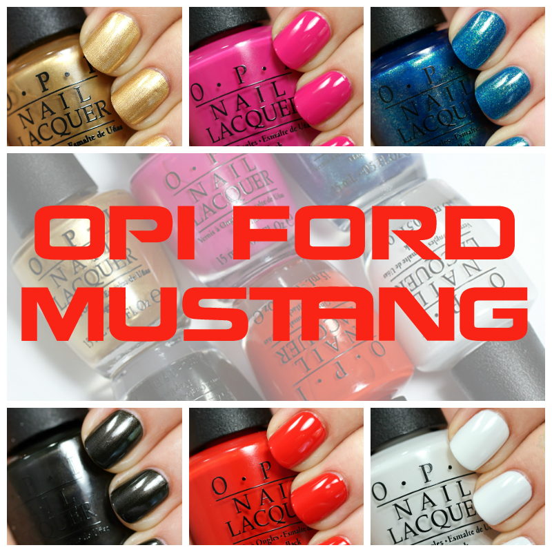 OPI Mustang Review and Swatches via @AllLacqueredUp