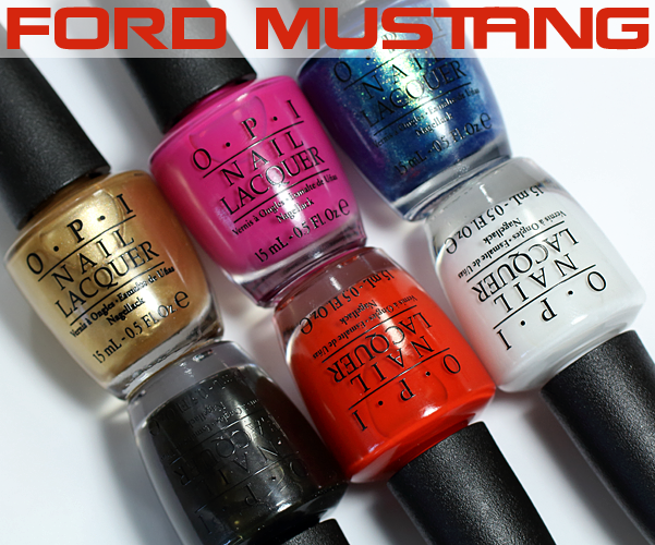 OPI Mustang Swatches and Review via @AllLacqueredUp