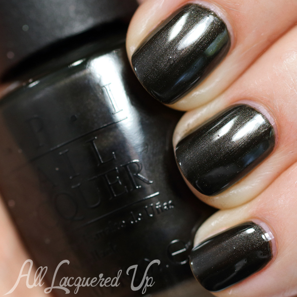 OPI Queen of the Road swatch from OPI Ford Mustang via @AllLacqueredUp