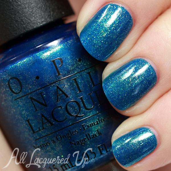 OPI The Sky's My Limit swatch from OPI Ford Mustang via @AllLacqueredUp