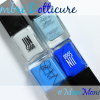 #ManiMonday – Blue Ombre Dotticure for a Visit to NYC