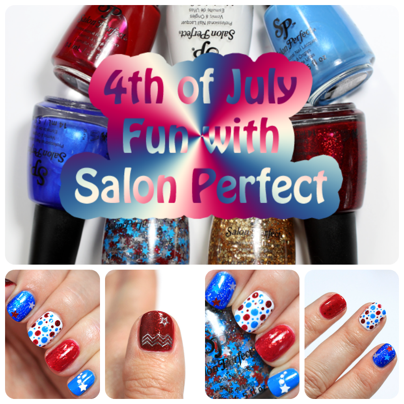 Salon Perfect Paint the Town Red, White and Blue