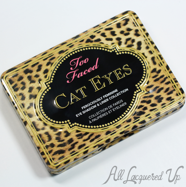 Too Faced Cat Eyes Palette Packaging