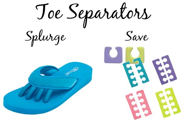 Pedicure Toe Separator Flip Flops