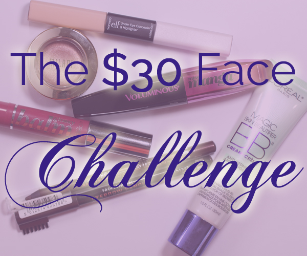 The $30 Face Makeup Challenge via @AllLacqueredUp