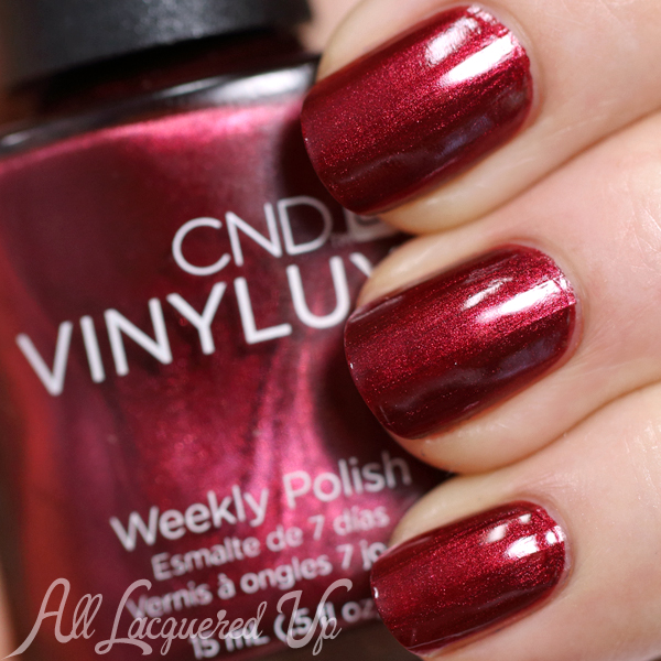 CND Crimson Sash for Fall 2014 via @AllLacqueredUp