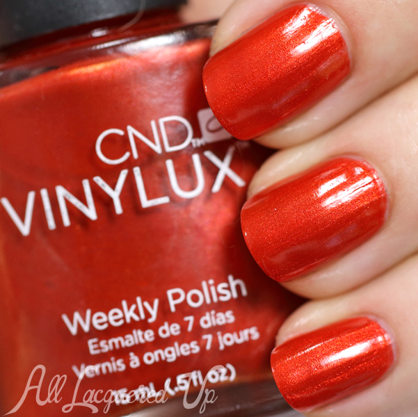 CND Fine Vermillion for Fall 2014 via @AllLacqueredUp