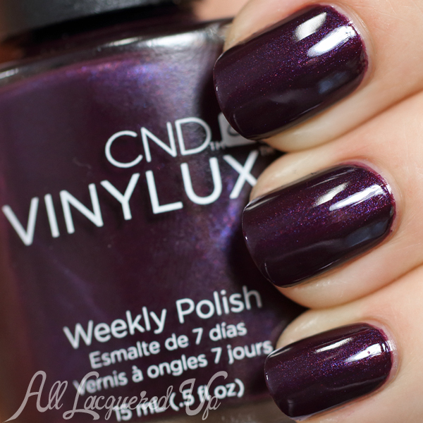 CND Plum Paisley for Fall 2014 via @AllLacqueredUp