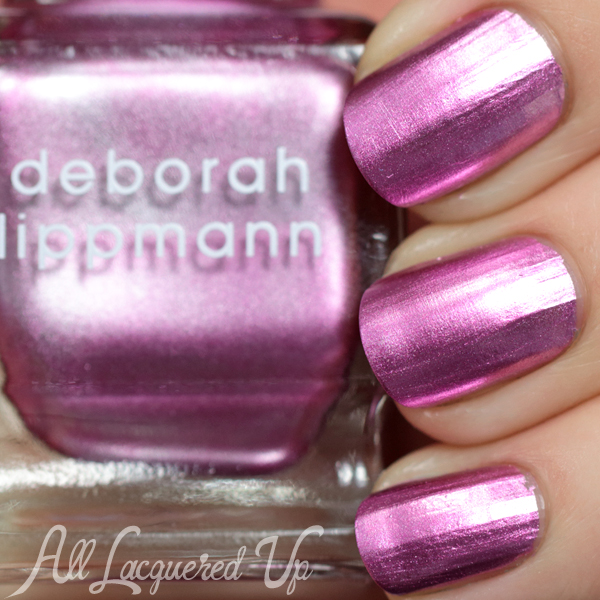 Deborah Lippmann 12th Street Rag swatch - Fall 2014 via @AllLacqueredUp