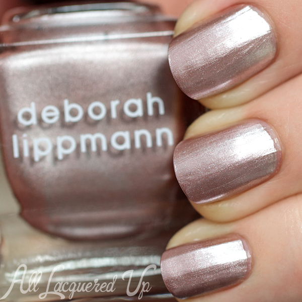 Deborah Lippmann Lullaby of Broadway swatch - Fall 2014 via @AllLacqueredUp