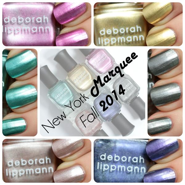 Deborah Lippmann New York Marquee - Fall 2014 via @AllLacqueredUp