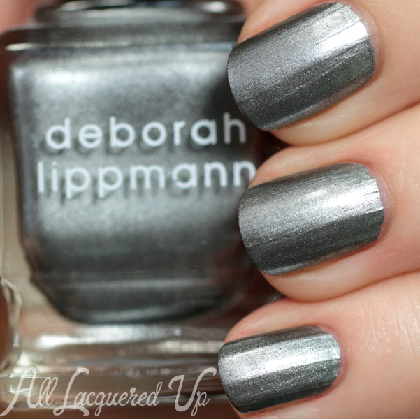 "Deborah Lippmann Take The ""A"" Train swatch - Fall 2014 via @AllLacqueredUp"