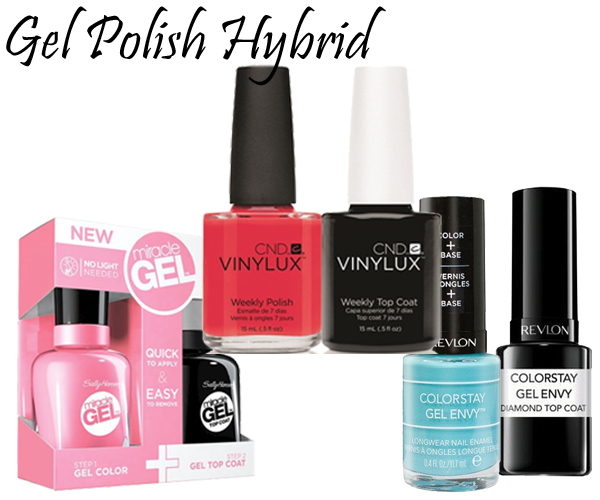 Gel Polish Hybrids via @AllLacqueredUp