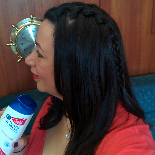 Waterfall Braid with Head & Shoulders #PartOfOurFamily