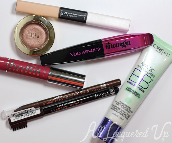 $30 Face Challenge - Makeup Products via @AllLacqueredUp