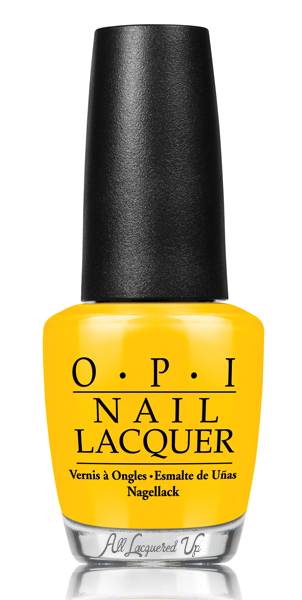 OPI Good Grief! from Peanuts by OPI for Halloween 2014 via @AllLacqueredUp