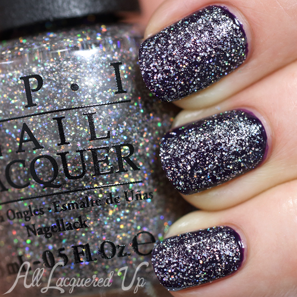 OPI My Voice Is A Little Norse Layered via @AllLacqueredUp