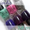 OPI Fall 2014 – Nordic Collection Swatches & Review (Part 1)