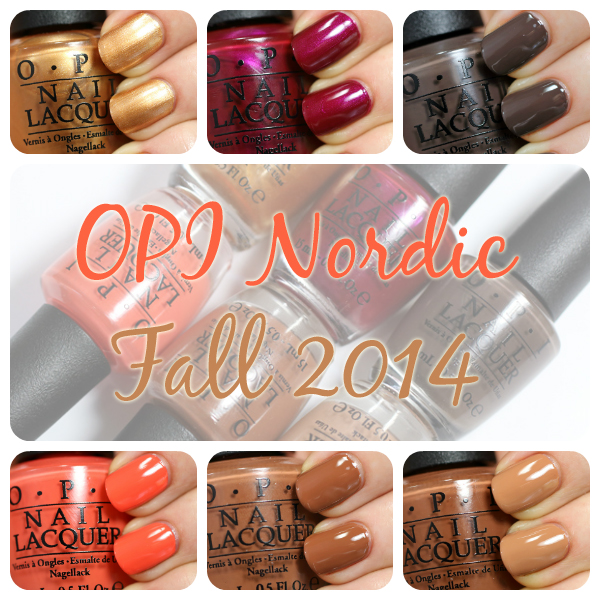 OPI Nordic for Fall 2014 swatches via @AllLacqueredUp