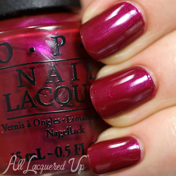 OPI Thank Glogg It's Friday - Nordic for Fall 2014 via @AllLacqueredUp