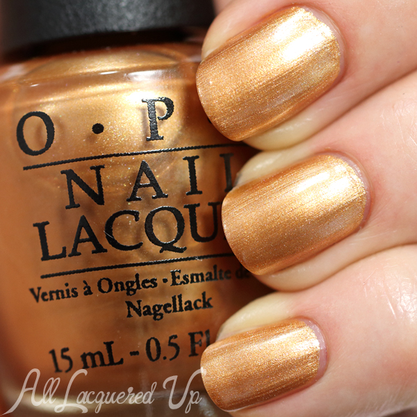 OPI With A Nice Finn-ish - Nordic for Fall 2014 via @AllLacqueredUp