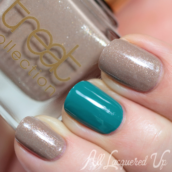 Treat Collection Cocktail Hour swatch via @AllLacqueredUp