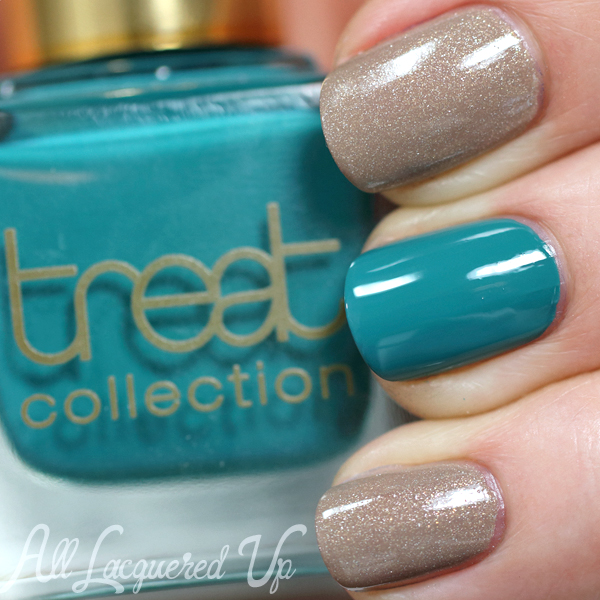 Treat Mint Juelp swatch via @AllLacqueredUp