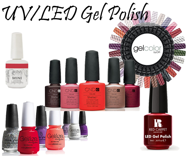 UV and LED Gel Nail Polish via @AllLacqueredUp