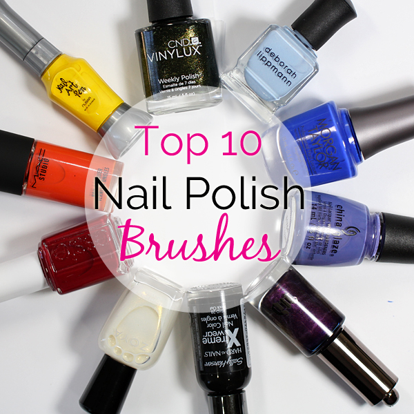 Best Nail Polish Brush via @AllLacqueredUp