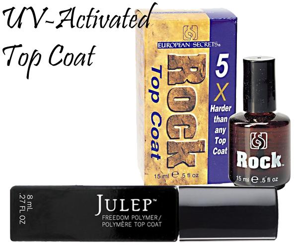 UV-Activated Top Coats via @AllLacqueredUp