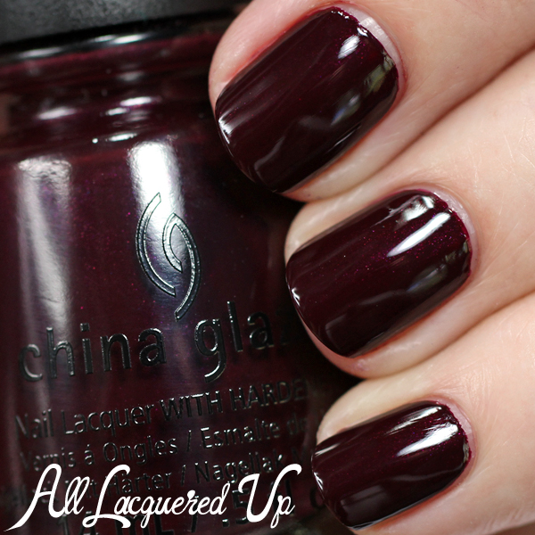 China Glaze Conduct Yourself -  Fall 2014 via @alllacqueredup