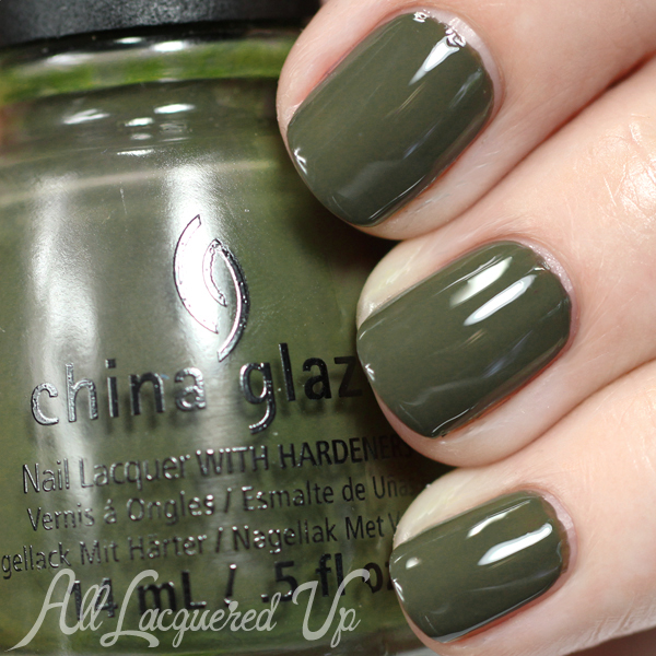 China Glaze Don't Get Derailed - Fall 2014 via @alllacqueredup