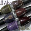 China Glaze All Aboard Fall 2014 Swatches & Review – Part 1
