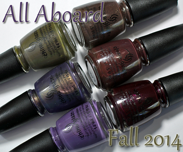 China Glaze Fall 2014 - All Aboard via @alllacqueredup