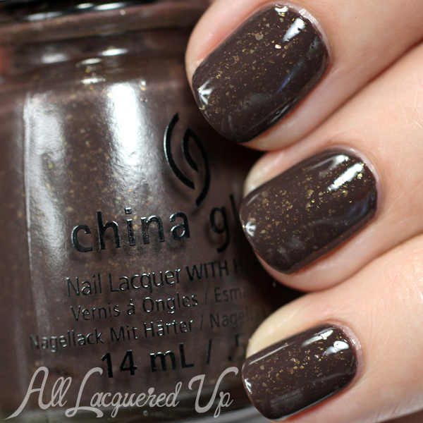 China Glaze Lug Your Designer Baggage - Fall 2014 via @alllacqueredup