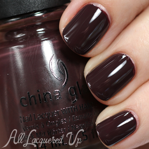 China Glaze What Are You A-Freight Of? - Fall 2014 via @alllacqueredup