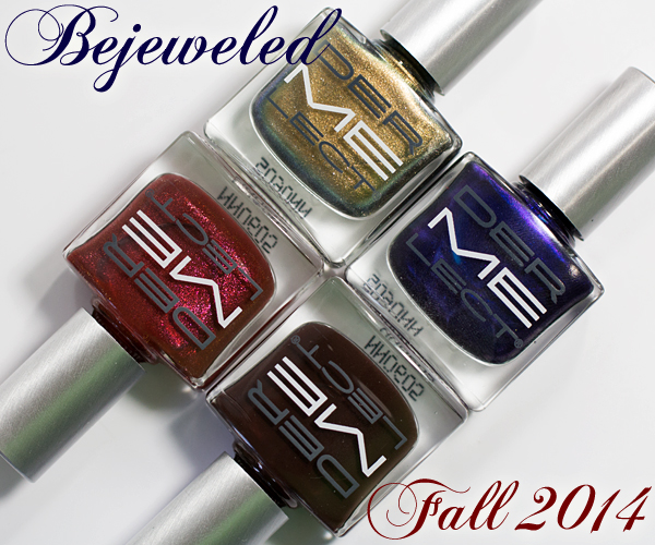 Dermelect Fall 2014 - Bejeweled via @AllLacqueredUp
